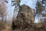 Zřícenina hradu Vickov