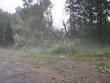 léto 2012- pouť a kroupy ve Skryjích