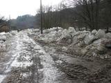 povodně Skryje 2011